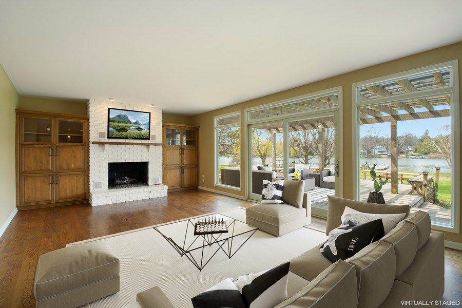 Real Estate Photography - 552 Welch Cir, Lake Barrington, IL, 60010 - Family Room
