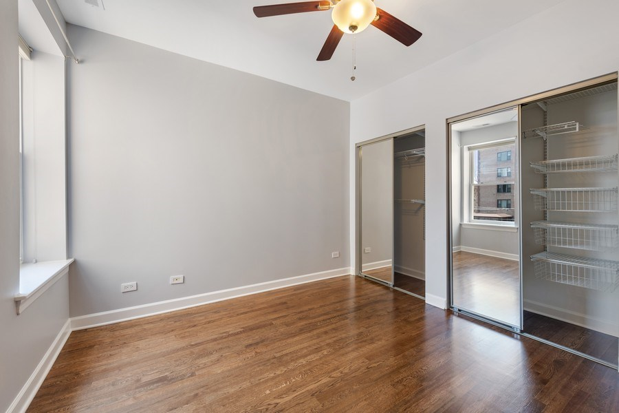 Real Estate Photography - 4921 N Winthrop, Unit 2S, Chicago, IL, 60640 - Master Bedroom