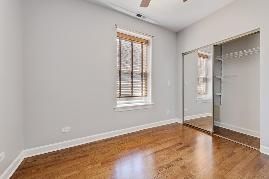 Real Estate Photography - 4921 N Winthrop, Unit 2S, Chicago, IL, 60640 - 2nd Bedroom