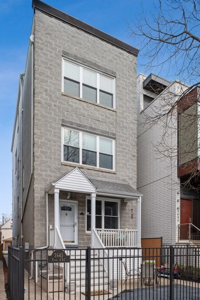 Real Estate Photography - 3645 N Wayne, Unit A, Chicago, IL, 60613 - Front View