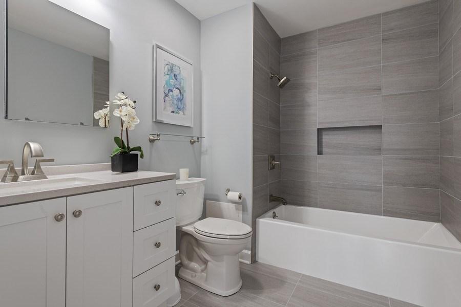 Real Estate Photography - 3645 N Wayne, Unit A, Chicago, IL, 60613 - Bathroom