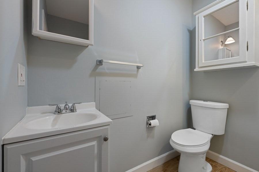 Real Estate Photography - 3645 N Wayne, Unit A, Chicago, IL, 60613 - 2nd Bathroom