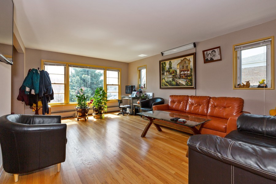 Real Estate Photography - 6055 N Sauganash, Chicago, IL, 60646 - Living Room
