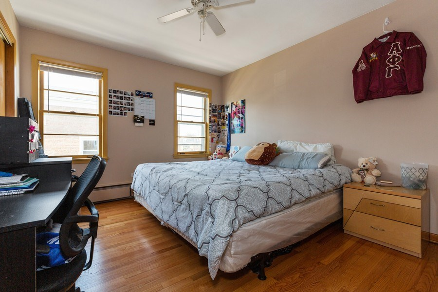 Real Estate Photography - 6055 N Sauganash, Chicago, IL, 60646 - 2nd Bedroom
