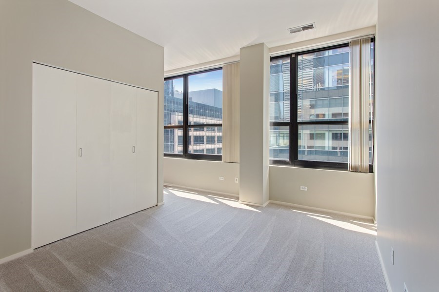 Real Estate Photography - 130 S Canal St, Unit 803, Chicago, IL, 60606 - 2nd Bedroom