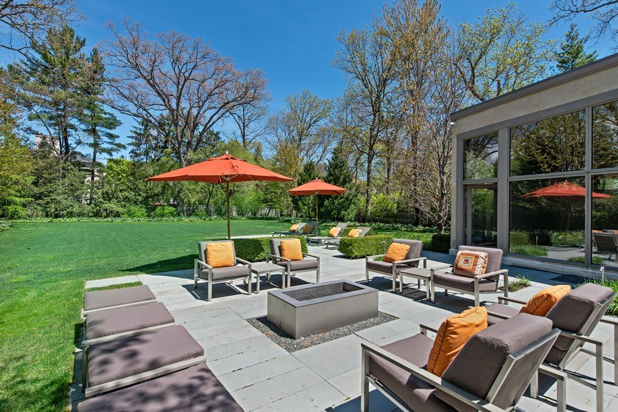 Real Estate Photography - 905 Sunset Road, Winnetka, IL, 60093 - Patio