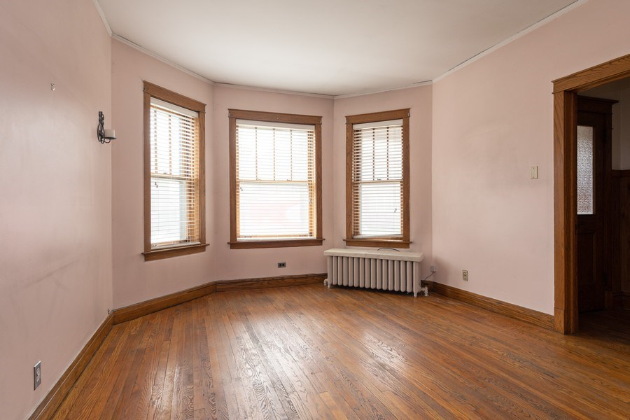 Real Estate Photography - 2212 W. Addison Street, Chicago, IL, 60618 - Living Room