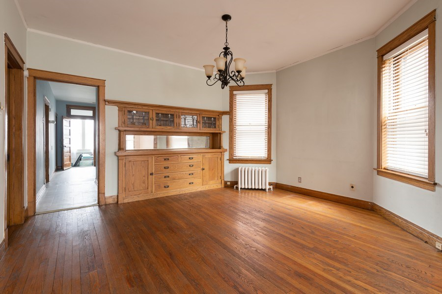 Real Estate Photography - 2212 W. Addison Street, Chicago, IL, 60618 - Dining Room