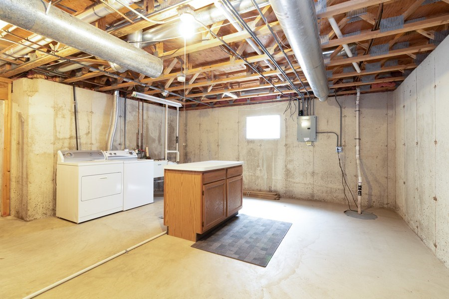 Real Estate Photography - 8153 Lake Street, Willow Springs, IL, 60480 - Laundry Room