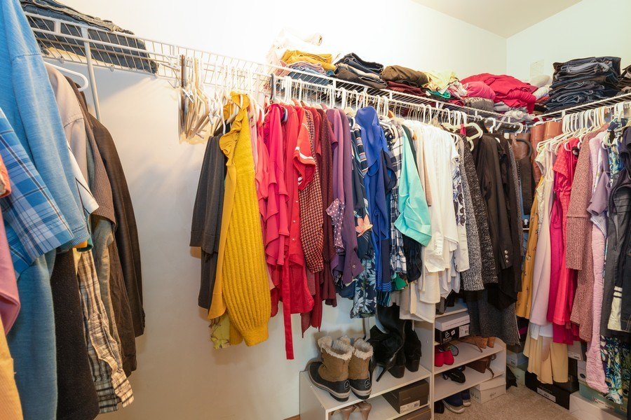 Real Estate Photography - 8153 Lake Street, Willow Springs, IL, 60480 - Master Bedroom Closet