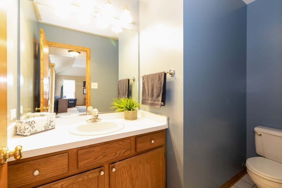 Real Estate Photography - 8153 Lake Street, Willow Springs, IL, 60480 - Bathroom