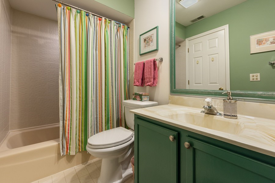 Real Estate Photography - 1635 E Clayton, Arlington Heights, IL, 60004 - 3rd Bathroom
