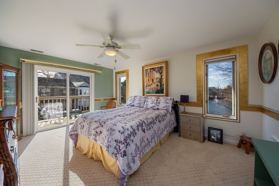 Real Estate Photography - 1635 E Clayton, Arlington Heights, IL, 60004 - Master Bedroom
