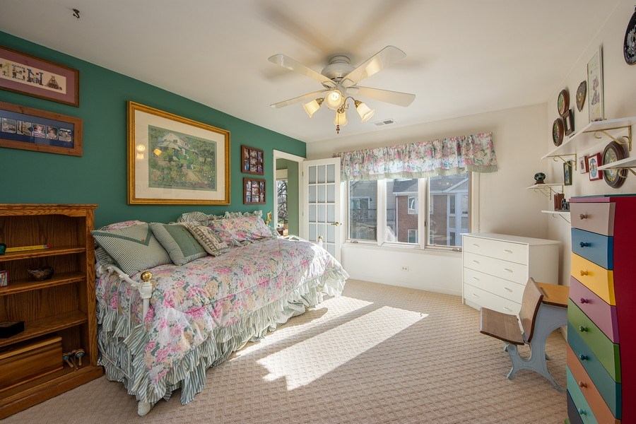 Real Estate Photography - 1635 E Clayton, Arlington Heights, IL, 60004 - 2nd Bedroom