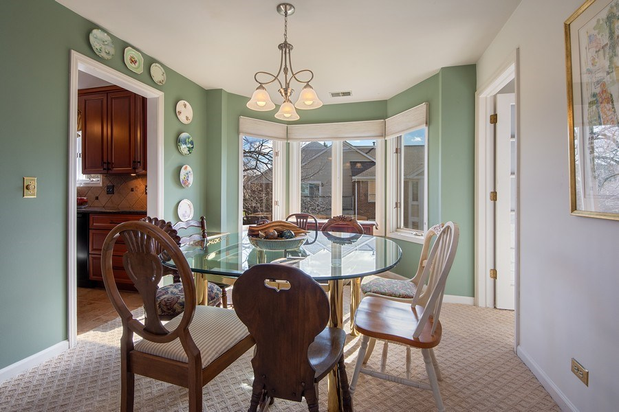Real Estate Photography - 1635 E Clayton, Arlington Heights, IL, 60004 - Dining Room