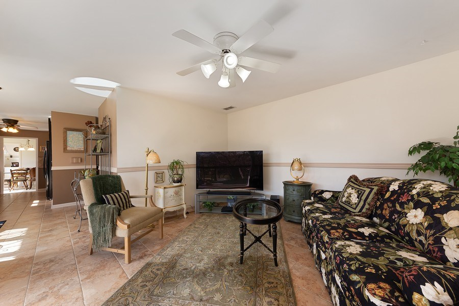 Real Estate Photography - 1635 E Clayton, Arlington Heights, IL, 60004 - Family Room