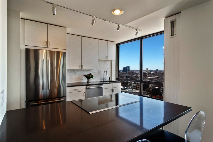 Real Estate Photography - 2020 N Lincoln Park West, Unit 14A, Chicago, IL, 60614 - Kitchen