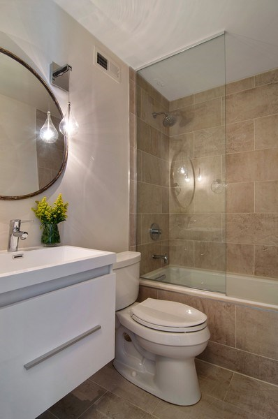 Real Estate Photography - 2020 N Lincoln Park West, Unit 14A, Chicago, IL, 60614 - Bathroom