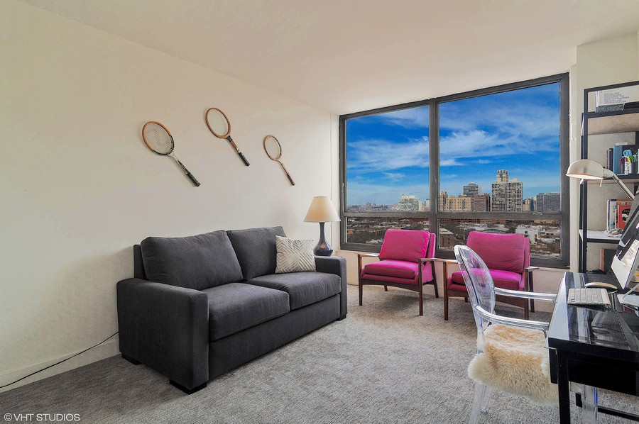 Real Estate Photography - 2020 N Lincoln Park West, Unit 14A, Chicago, IL, 60614 -
