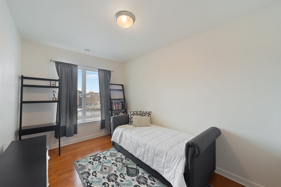 Real Estate Photography - 2326 W. Giddings, #302, Chicago, IL, 60625 - Third Bedroom