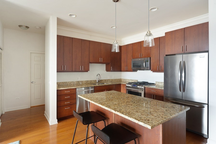 Real Estate Photography - 2326 W. Giddings, #302, Chicago, IL, 60625 - Kitchen