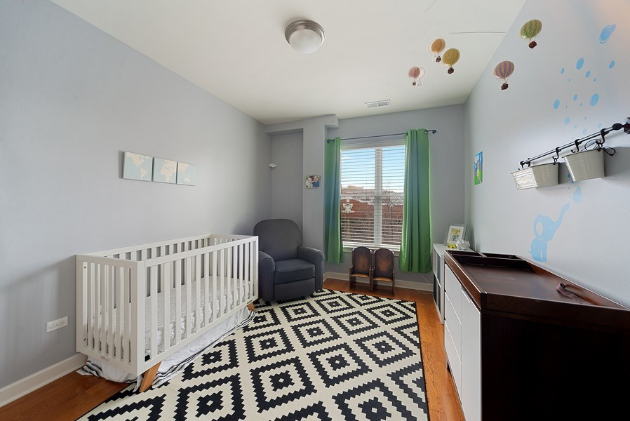 Real Estate Photography - 2326 W. Giddings, #302, Chicago, IL, 60625 - Second Bedroom