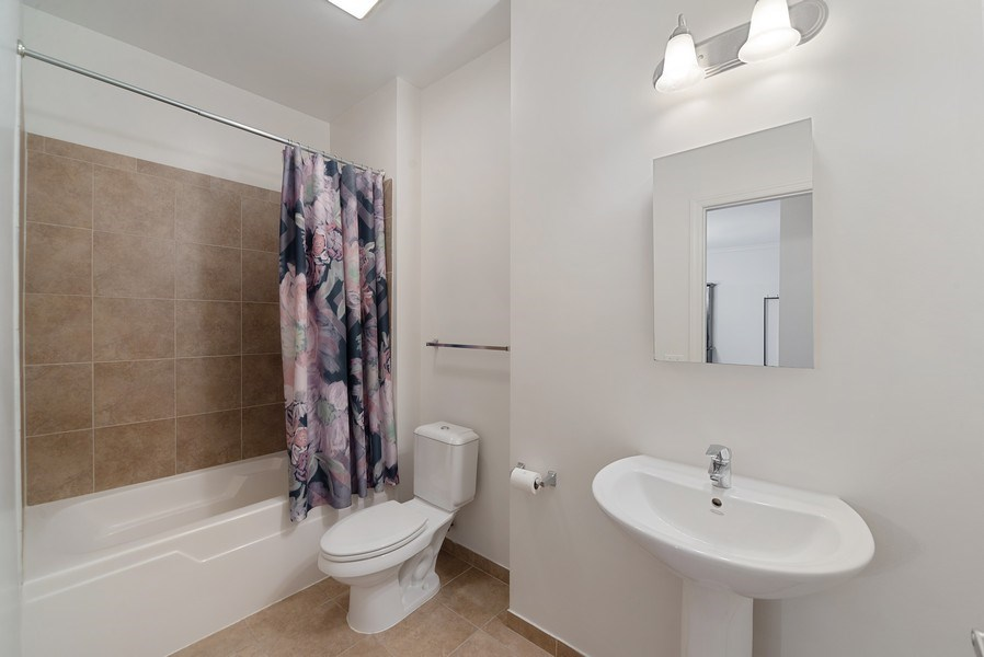 Real Estate Photography - 2326 W. Giddings, #302, Chicago, IL, 60625 - Second Bathroom