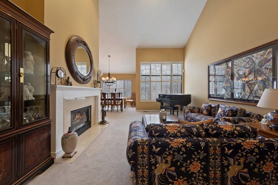 Real Estate Photography - 233 N Bay Ct., Lake Barrington, IL, 60010 - Living Room