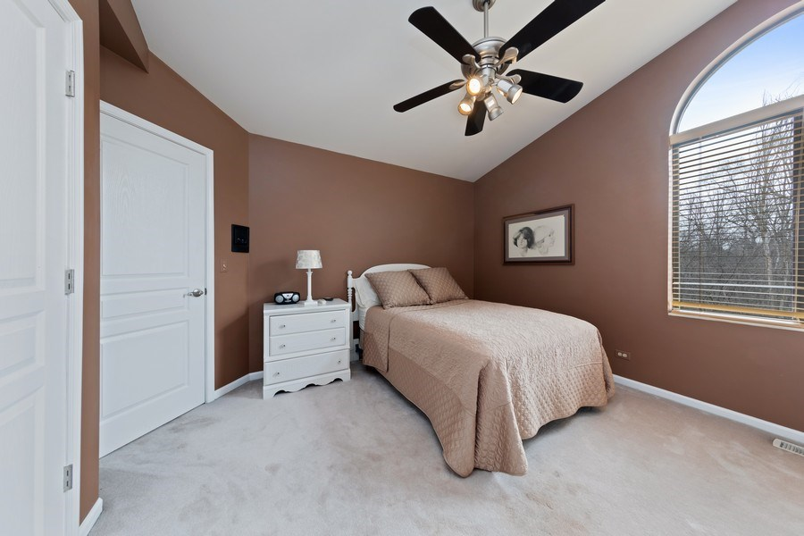 Real Estate Photography - 233 N Bay Ct., Lake Barrington, IL, 60010 - 3rd Bedroom