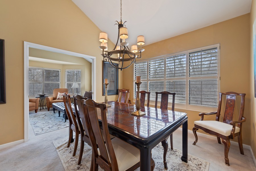 Real Estate Photography - 233 N Bay Ct., Lake Barrington, IL, 60010 - Dining Room