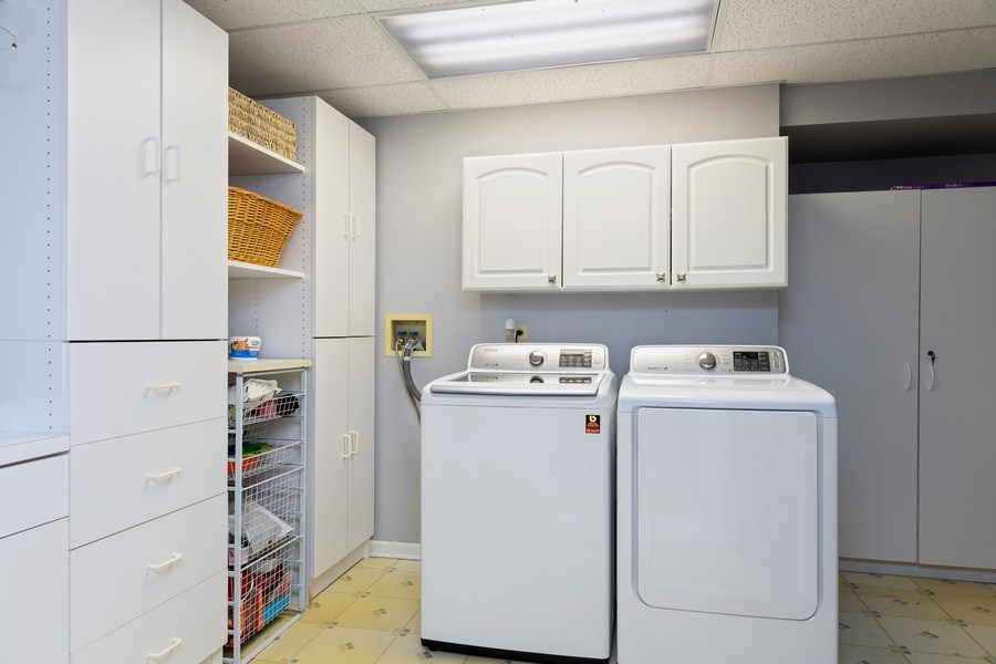 Real Estate Photography - 233 N Bay Ct., Lake Barrington, IL, 60010 - Laundry Room