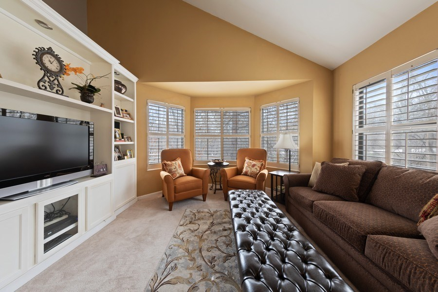 Real Estate Photography - 233 N Bay Ct., Lake Barrington, IL, 60010 - Den