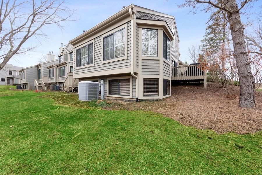 Real Estate Photography - 233 N Bay Ct., Lake Barrington, IL, 60010 - Rear View