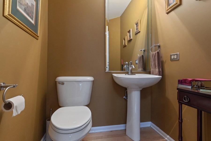 Real Estate Photography - 233 N Bay Ct., Lake Barrington, IL, 60010 - Half Bath