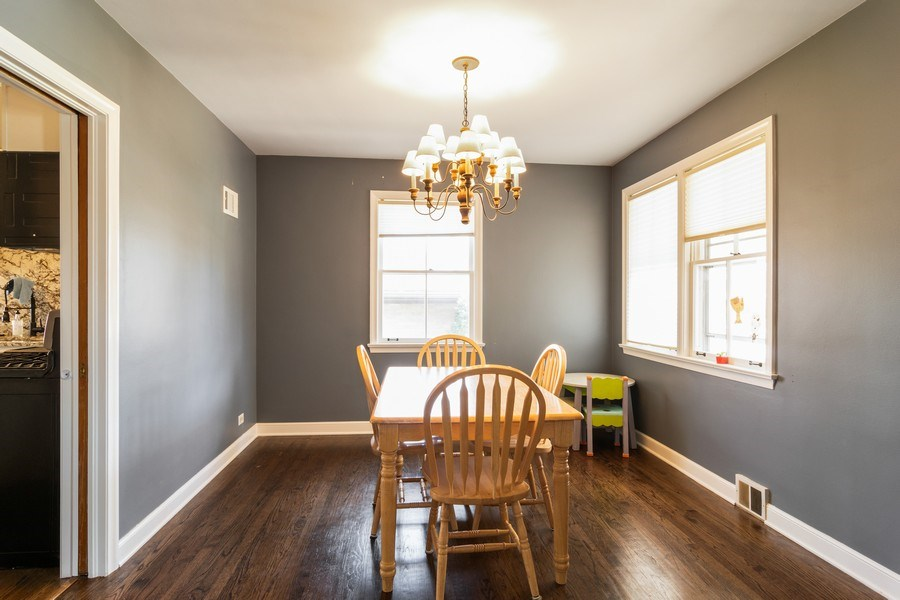 Real Estate Photography - 1352 Westchester Blvd, Westchester, IL, 60154 - Dining Room
