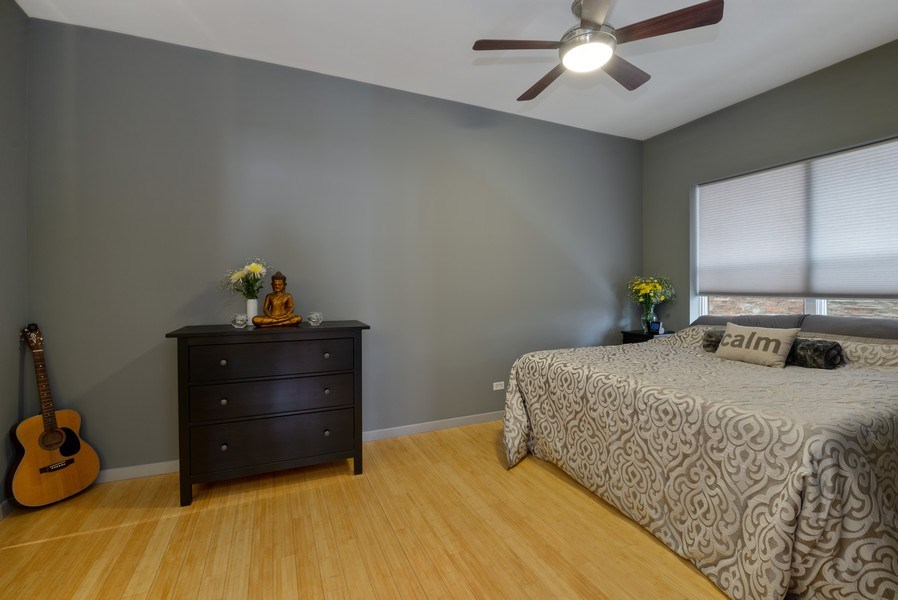 Real Estate Photography - 2136 W. Evergreen Ave., Unit 2B, Chicago, IL, 60622 - Master Bedroom