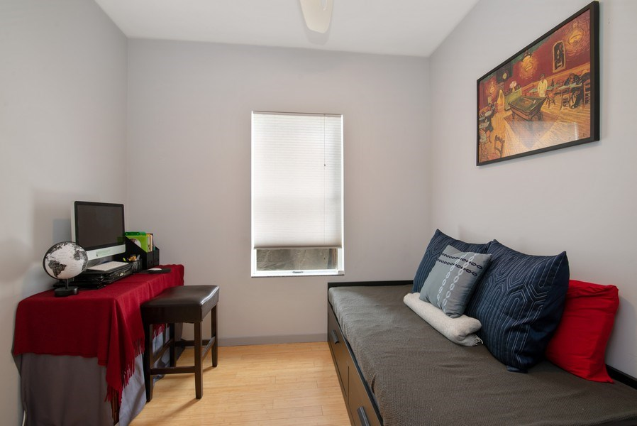 Real Estate Photography - 2136 W. Evergreen Ave., Unit 2B, Chicago, IL, 60622 - 2nd Bedroom