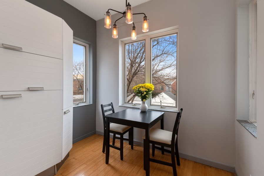 Real Estate Photography - 2136 W. Evergreen Ave., Unit 2B, Chicago, IL, 60622 - Dining Room
