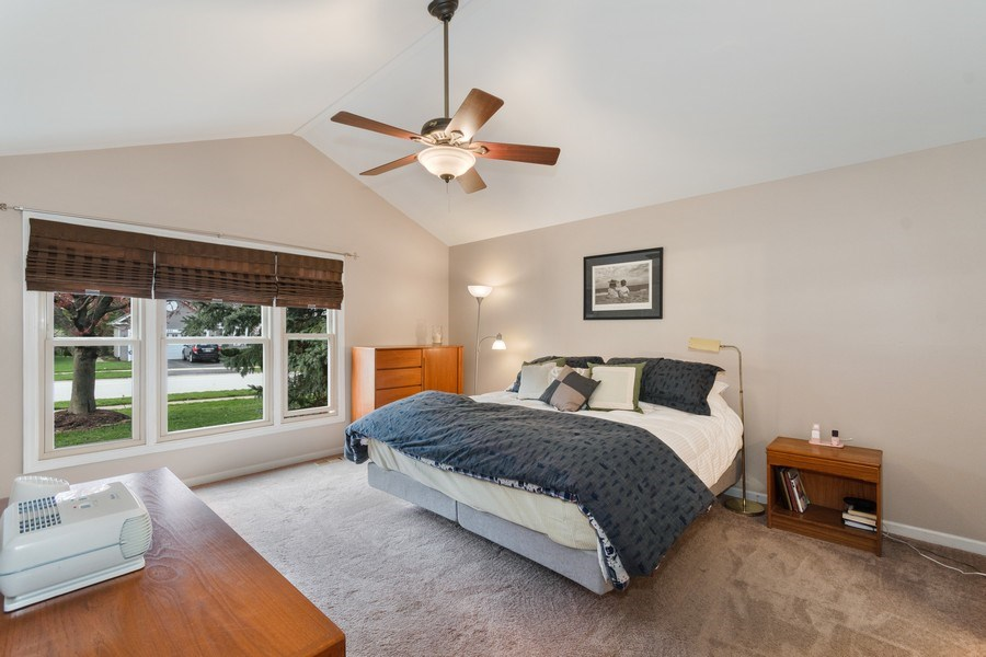 Real Estate Photography - 338 Meadowview Lane, Aurora, IL, 60502 - Master Bedroom