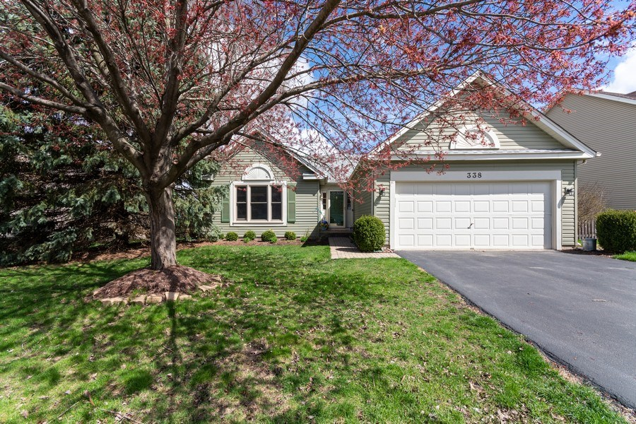 Real Estate Photography - 338 Meadowview Lane, Aurora, IL, 60502 - Front View