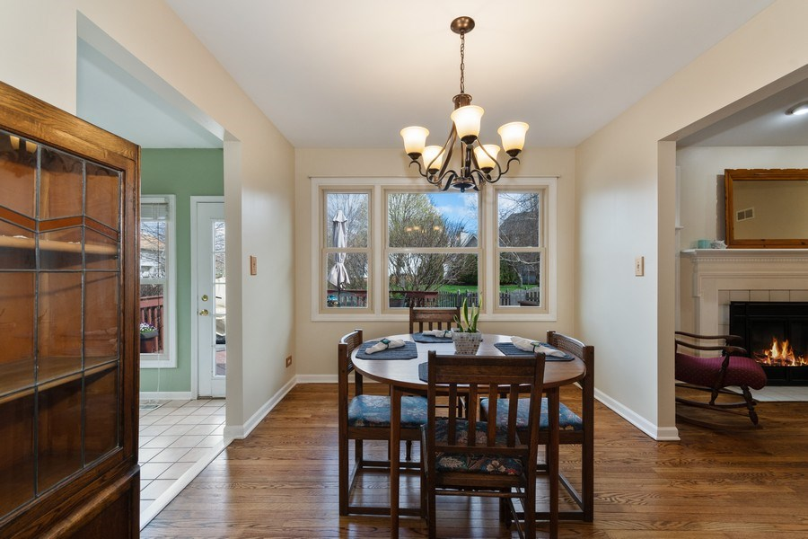Real Estate Photography - 338 Meadowview Lane, Aurora, IL, 60502 - Dining Room