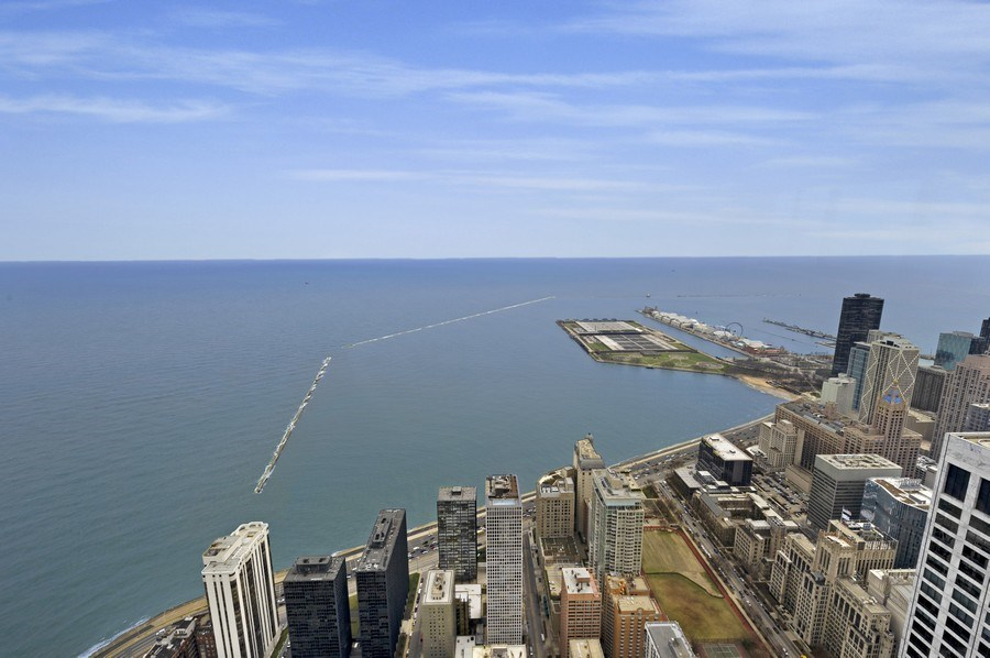 Real Estate Photography - 175 E. Delaware, #8606/8607, Chicago, IL, 60611 - View