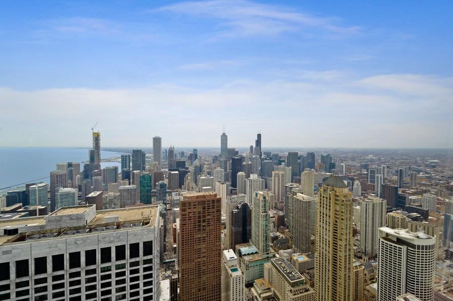 Real Estate Photography - 175 E. Delaware, #8606/8607, Chicago, IL, 60611 - View