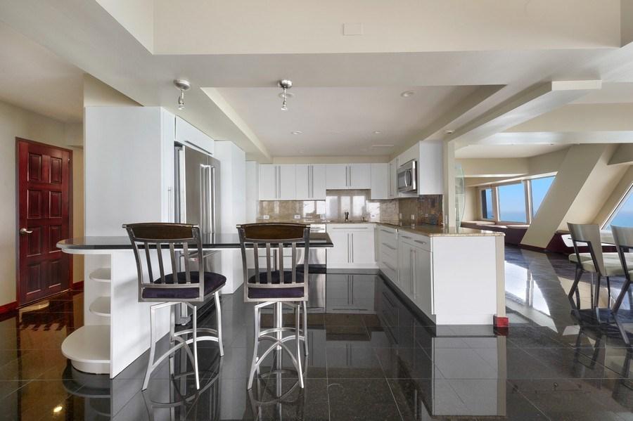 Real Estate Photography - 175 E. Delaware, #8606/8607, Chicago, IL, 60611 - Kitchen