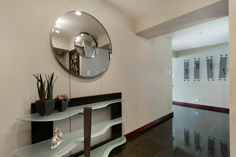 Real Estate Photography - 175 E. Delaware, #8606/8607, Chicago, IL, 60611 - Foyer