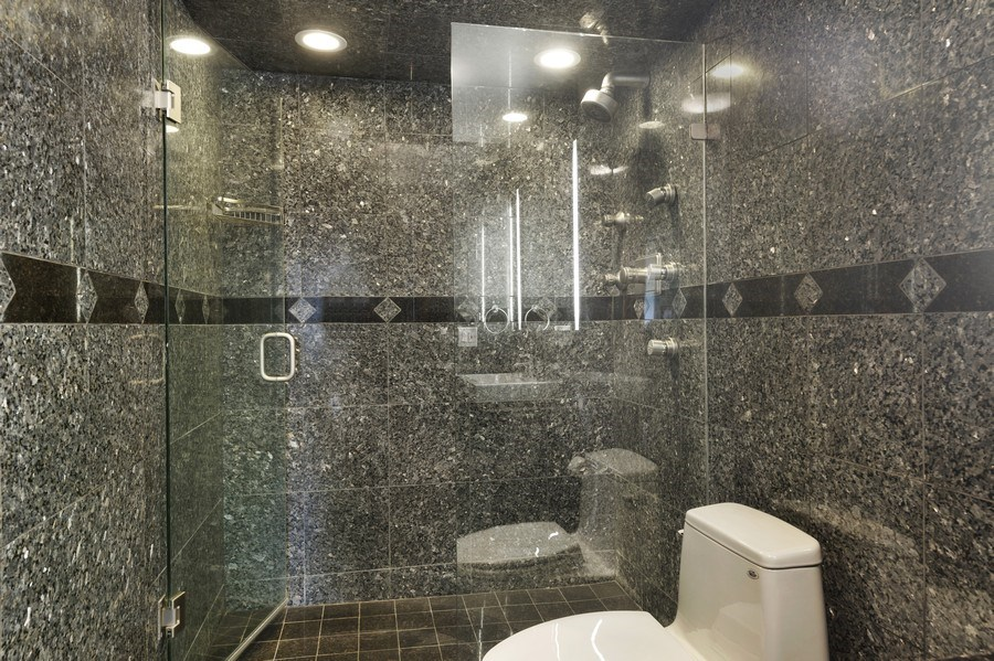 Real Estate Photography - 175 E. Delaware, #8606/8607, Chicago, IL, 60611 - Second Bathroom