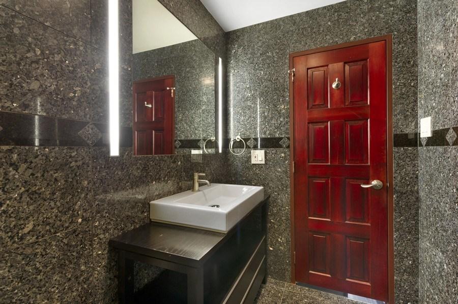 Real Estate Photography - 175 E. Delaware, #8606/8607, Chicago, IL, 60611 - Second Bathroom