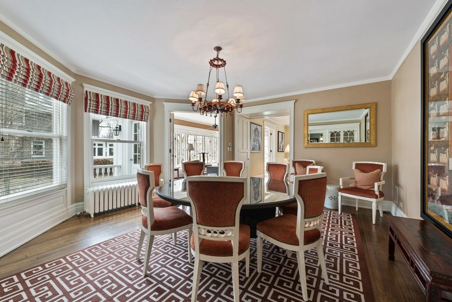 Real Estate Photography - 523 Essex, Kenilworth, IL, 60043 - Dining Room