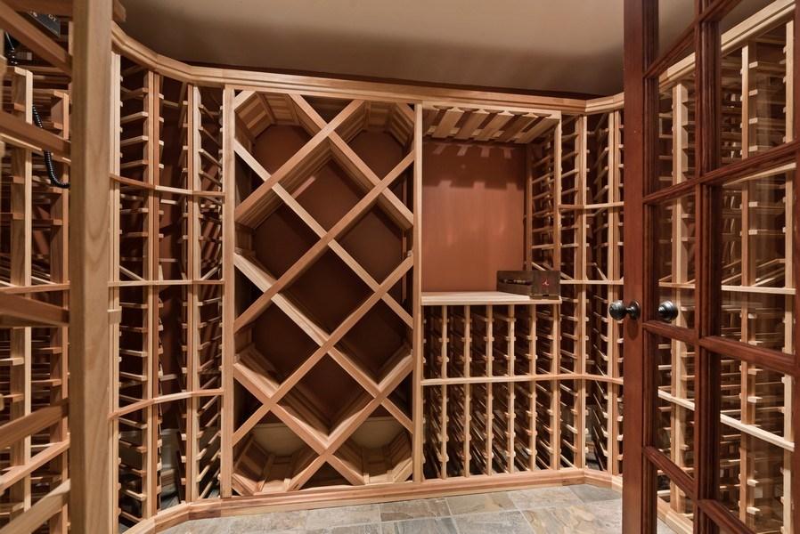 Real Estate Photography - 523 Essex, Kenilworth, IL, 60043 - Wine Cellar