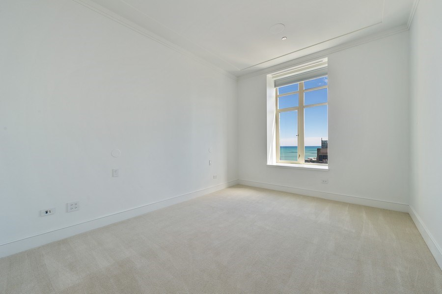 Real Estate Photography - 118 East Erie, 36F, Chicago, IL, 60611 - Master Bedroom